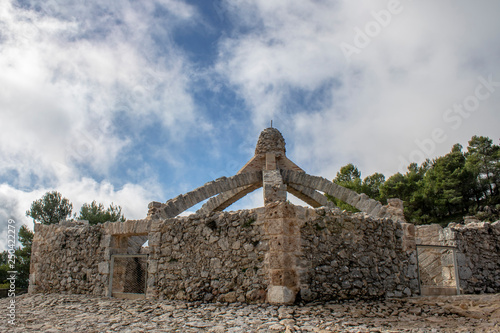"""Fotografie, Obraz  Nevero """"cava gran de Agres"""", sierra de Mariola, Alicante"""