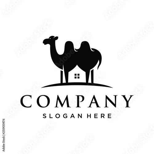 Fotografering  vector illustration of camel