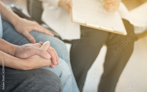 Infertility problem with marriage couple IVF concept Fototapet