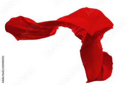 Poster Tissu Fabric Flowing Cloth Wave overlays,wedding dress
