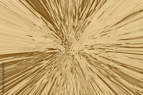 Fotografía  Gold ray background and glowing beam texture,  shiny illustration