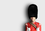Fototapeta Fototapeta Londyn - Young man in the costume of the Royal guards of Britain