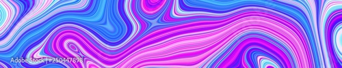 Psychedelic web abstract pattern and hypnotic background,  multicolored burlesque. #250447898