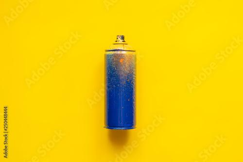 graffiti spray can isolated b
