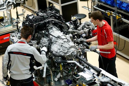 Stuttgart Porsche Factory