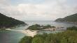 KOH TAO, THAILAND TROPICAL ISLAND LANDSCAPE (AERIAL DRONE SHOT) 15