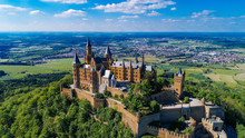 Aerial View Of Famous Hohenzollern Castle