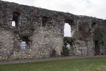 Ancient Wall Near Mirabella To...