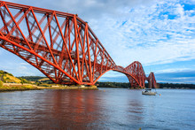 Forth Rail Bridge In North Que...
