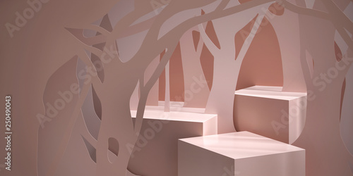 Photo  Cosmetic background for product  presentation