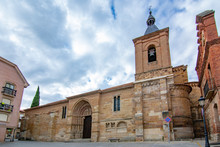 Church Of San Juan De El Mercado In Benavente