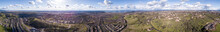 360 Degree Aerial Panorama Of ...