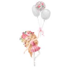 Cute Ballerina, Ballet Girl Wi...