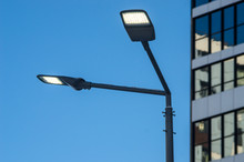 A Modern Street LED Lighting P...