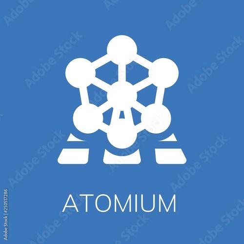 Atomium icon Wallpaper Mural