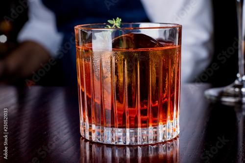 Fotografia drink, food, refreshment, glass, alcohol, citrus, orange, sweet, party, fresh, b