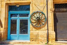 Blue Shutters Window And Door