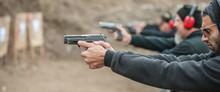 Group Of Civilian Practice Gun...