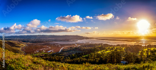 Fototapety, obrazy: Panorama of Bay and City, Ocean