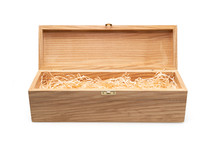 Wooden Wine Gift Box With A Fi...