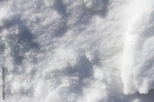 Stickers pour portes Eau Close-up abstract background of snow texture