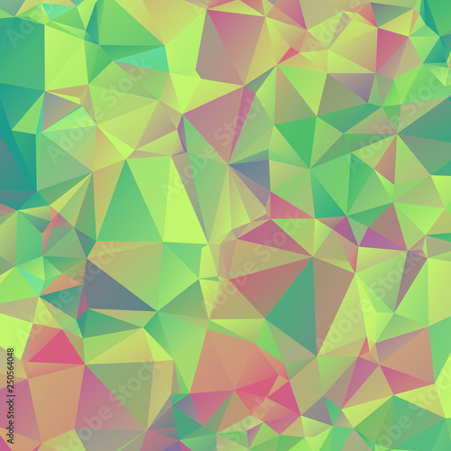 Fototapety, obrazy: abstract polygonal mosaic background