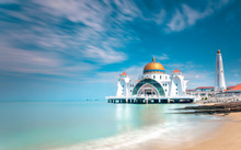 Malacca Straits Mosque Or Masj...