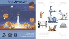 Flat Space Exploration Concept
