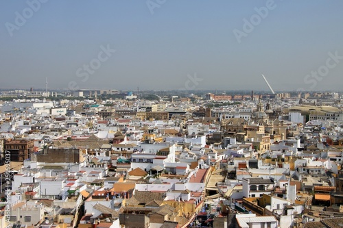 Poster View of Seville from the height of the Cathedral