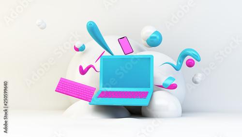 Obraz graphic design illustration - fototapety do salonu
