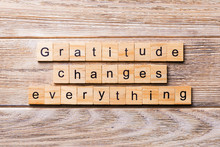 Gratitude Changes Everything W...