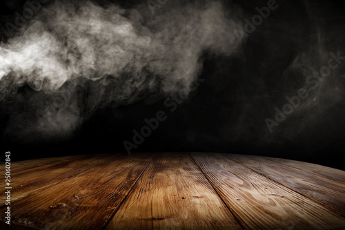 desk of free space and smoke decoration Wallpaper Mural