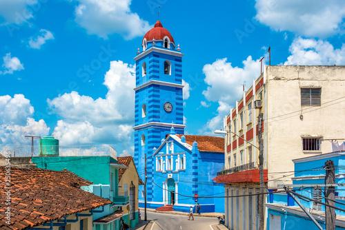 Photo Sancti Spiritus, Cuba,  Major Parish Cathedral of the Holy Spirit