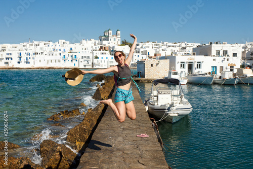 Photo Noussa sur l'île de Paros