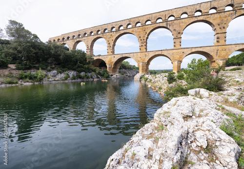 Pont Du Gard, France Wallpaper Mural