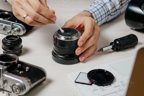 Repair of photographic equipment  Engineer - technician