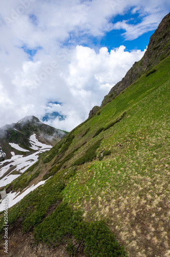 View of Caucasian mountains #250663435