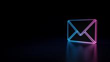 3d Icon Of Envelope