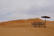 Rastplatz in der Wüste