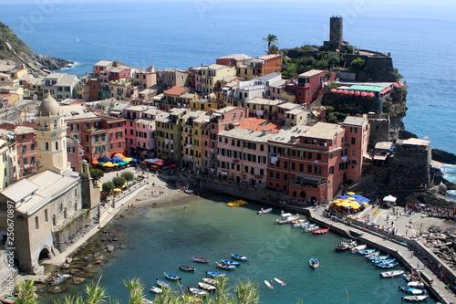 Fototapety, obrazy: Cinqueterre, Vernazza, Italy