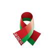 Belarus flag, vector illustration on a white background