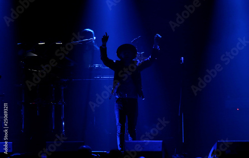 Beck performs during the iHeartRadio Alter Ego concert at