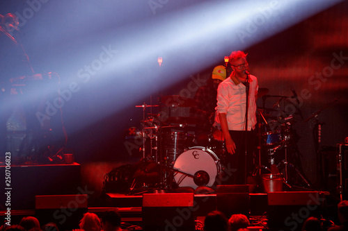 Berninger of The National performs during the iHeartRadio