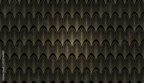 Photo  Art Deco Wall