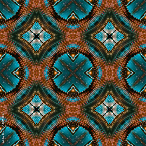 Photo  Seamless, Geometric art abstract road pattern