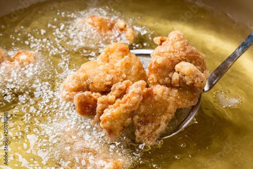 Fototapeta 鶏の唐揚げ