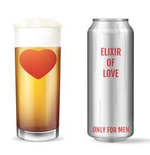 Elixir Of Love. Modern Concept...
