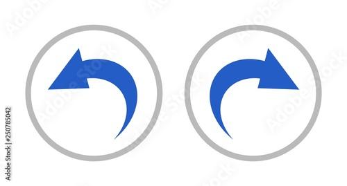 Fotografie, Obraz 戻るボタンと進むボタン