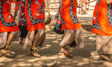 Traditional African Dancers On...
