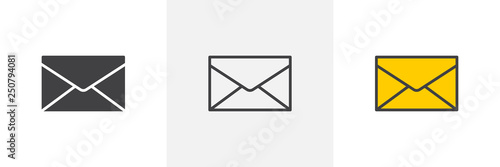 Envelope mail icon Fototapeta